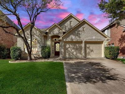 Cedar Park Single Family Home For Sale: 2013 McIllwain Cv