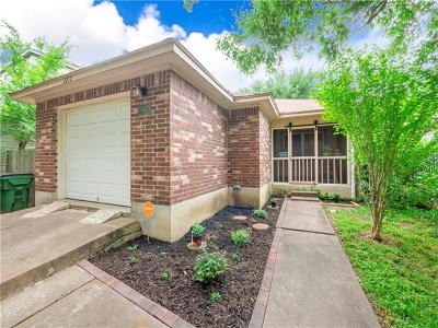 Round Rock Single Family Home Pending - Taking Backups: 2212 Jasmine Path