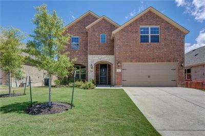 Leander Single Family Home For Sale: 433 Mistflower Springs Dr