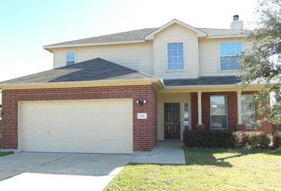 Hutto Rental For Rent: 116 Hanstrom Dr