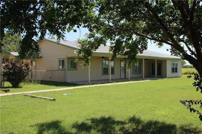 Bell County, Bosque County, Burnet County, Calhoun County, Coryell County, Lampasas County, Limestone County, Llano County, McLennan County, Milam County, Mills County, San Saba County, Williamson County, Hamilton County Single Family Home For Sale: 1875 County Road 460