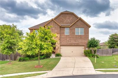 Round Rock Single Family Home Pending - Taking Backups: 1009 Mark Omeara Cv