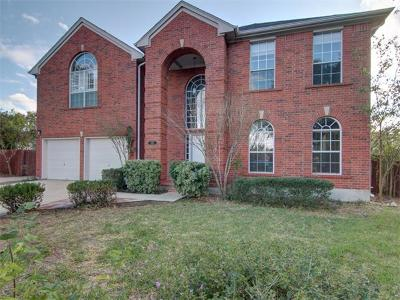 Leander Single Family Home For Sale: 15311 English River Loop