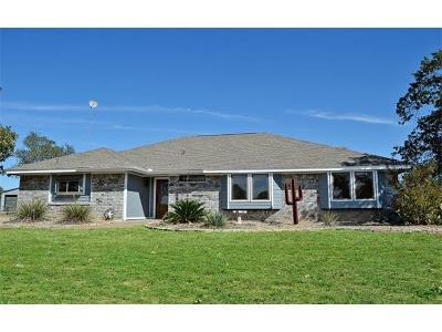 Burnet County Single Family Home For Sale: 117 Tierra Verde
