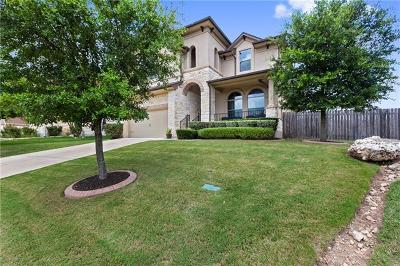 Round Rock Single Family Home For Sale: 213 E Adelanta Pl