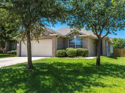 Leander Single Family Home For Sale: 105 S Treasure Oaks Dr