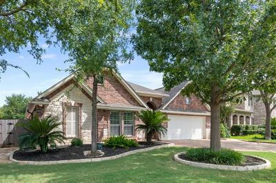 Round Rock Single Family Home For Sale: 3718 Derby Trl