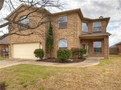 Round Rock Single Family Home For Sale: 3329 Pioneer Crossing Dr