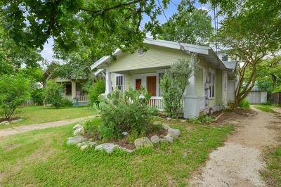 Austin Single Family Home For Sale: 1612 W 9 1/2 St