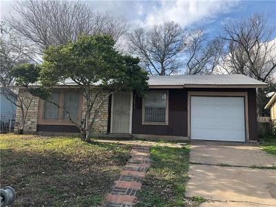 Austin Single Family Home For Sale: 6606 Stonleigh Pl