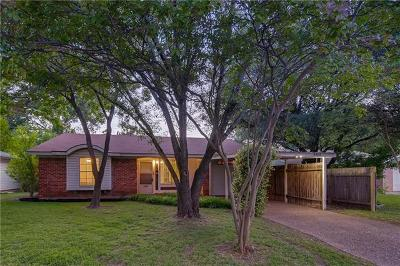 Austin Single Family Home For Sale: 8404 Whittman Cv