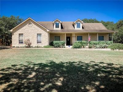 Dripping Springs Single Family Home Active Contingent: 406 Roy Creek Ln