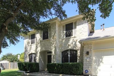 Round Rock Single Family Home For Sale: 1835 White Indigo Trl