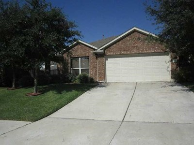 Round Rock Single Family Home For Sale: 4323 Fairway Path