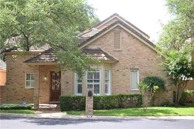 Condo/Townhouse For Sale: 2203 Onion Creek Pkwy #3