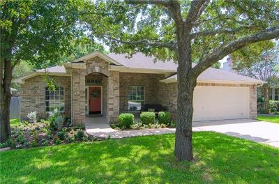 Round Rock Single Family Home Pending - Taking Backups: 2116 Bent Tree Ct