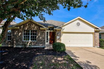 Hutto Single Family Home For Sale: 6012 Lone Star Ct