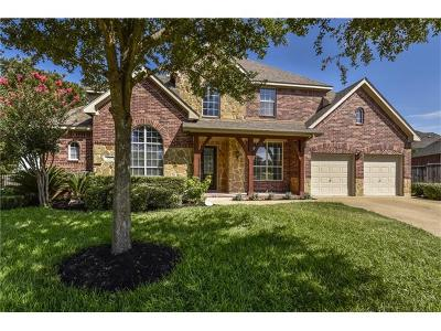 Round Rock Single Family Home Pending - Taking Backups: 1202 Ashtree Ct