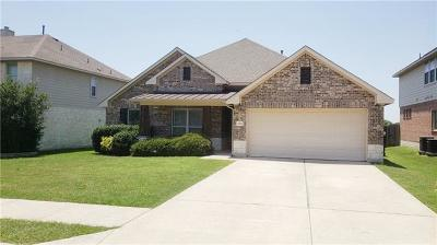 Round Rock Single Family Home For Sale: 1108 Preserve Pl