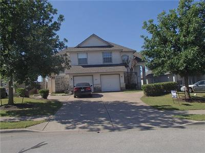 Round Rock  Multi Family Home For Sale: 2837 Southampton Way