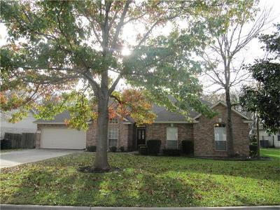 Georgetown Single Family Home For Sale: 2904 Brandy Ln