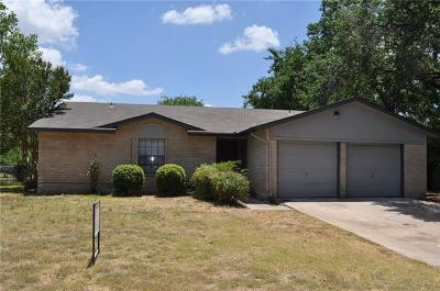 Round Rock Single Family Home For Sale: 1103 Green Meadow Dr