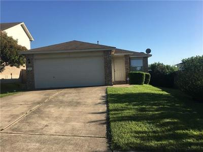 Pflugerville Single Family Home Pending - Taking Backups: 909 Grey Castle Dr