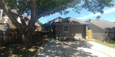 Hays County, Travis County, Williamson County Single Family Home Pending - Taking Backups: 5413 Walnut Grove Dr