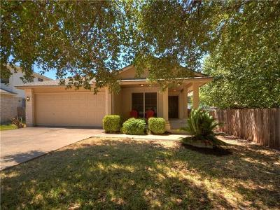 Round Rock Single Family Home Pending - Taking Backups: 3006 Adam Cv