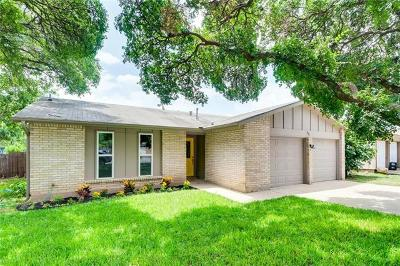 Round Rock Single Family Home For Sale: 711 Chisholm Valley Dr