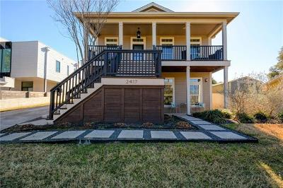 Hays County, Travis County, Williamson County Single Family Home For Sale: 2417 Euclid Ave