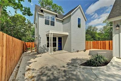 Austin Single Family Home For Sale: 5510 Woodrow Ave #2