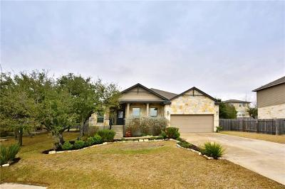 Dripping Springs Single Family Home Pending - Taking Backups: 17702 Sly Fox Dr