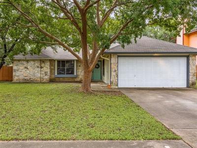 Cedar Park Single Family Home For Sale: 1600 Hatch Rd