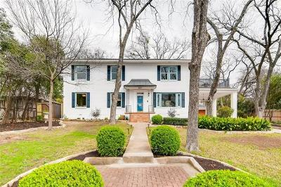 Austin Single Family Home For Sale: 2417 Hartford