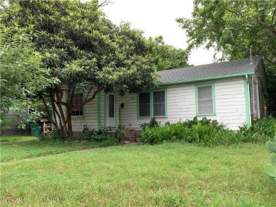 Travis County Single Family Home Pending - Taking Backups: 1700 Palo Duro Rd