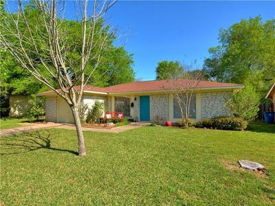 Austin Single Family Home Pending - Taking Backups: 804 Hill Wood Dr