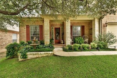 Cedar Park Single Family Home Pending - Taking Backups: 2507 Armatrading Dr