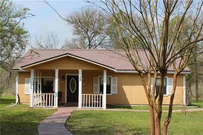 Cedar Creek Single Family Home Pending - Taking Backups: 128 Reeves Ln