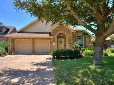 Round Rock Single Family Home For Sale: 4115 Flintwood Ln