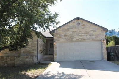 Spicewood Single Family Home Pending - Taking Backups: 716 Newport Dr