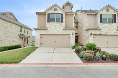 Cedar Park Condo/Townhouse For Sale: 700 Mandarin Flyway #803