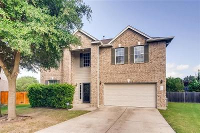 Round Rock Single Family Home For Sale: 311 Nick Price Cv