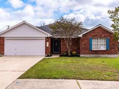 Round Rock Single Family Home For Sale: 3937 Eagles Nest St