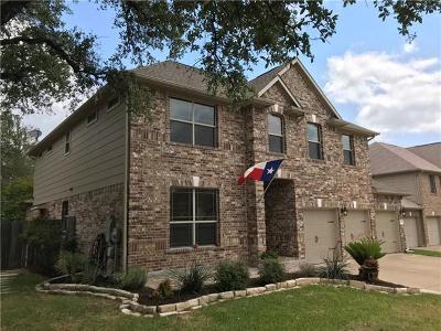 Cedar Park Single Family Home For Sale: 1206 Van Horn Way