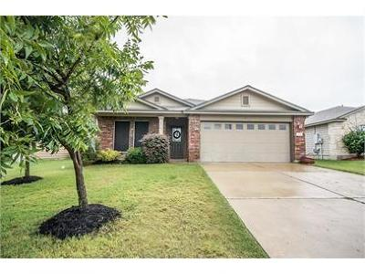 Hutto Single Family Home Pending