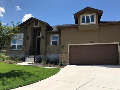 New Braunfels Single Family Home Pending: 1424 Kamryn Way