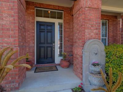 Round Rock Single Family Home For Sale: 4098 Bluffside Ln