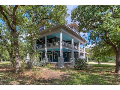 Manor Single Family Home For Sale: 19704 Hog Eye Rd