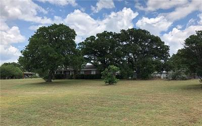 Burnet County Single Family Home For Sale: 1406 Kingfish Dr